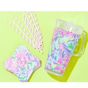 NWT Lilly Pulitzer Pitcher Party Set
